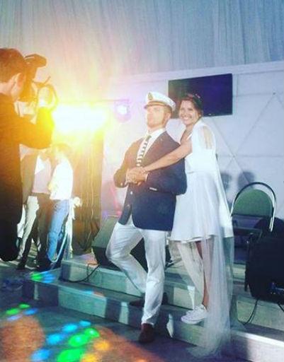 Юлия и Игорь сами развлекали гостей