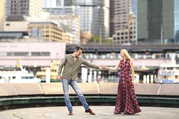 Супруги целый день гуляли по Сиднею. Дочь Клаудию на время гастролей оставили с бабушкой Валентиной