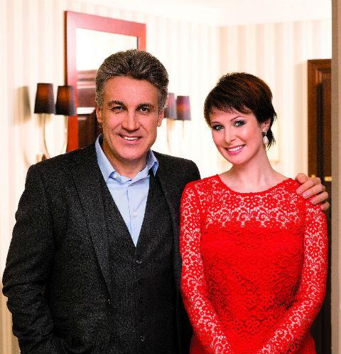 Ольга Погодина с мужем Алексеем Пимановым