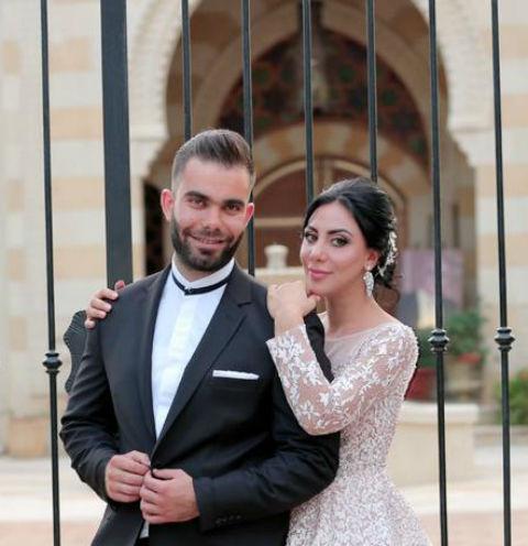 Аида Мартиросян и ее супруг Хассан