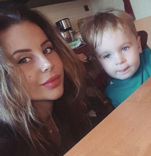 Ольга Ветер вынуждена сидеть дома с сыном