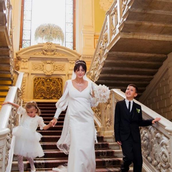 Алиса Аршавина с детьми от первого брака