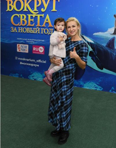 Татьяна Волосожар с ребенком