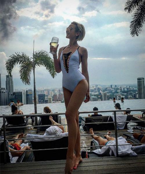 Ольга Бузова наслаждается красотами Сингапура
