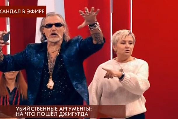 Актер довольно эмоционально реагировал на слова Романовой