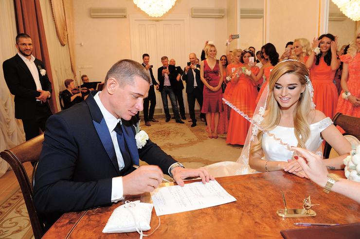 Свадьба влюбленных была невероятно красивой