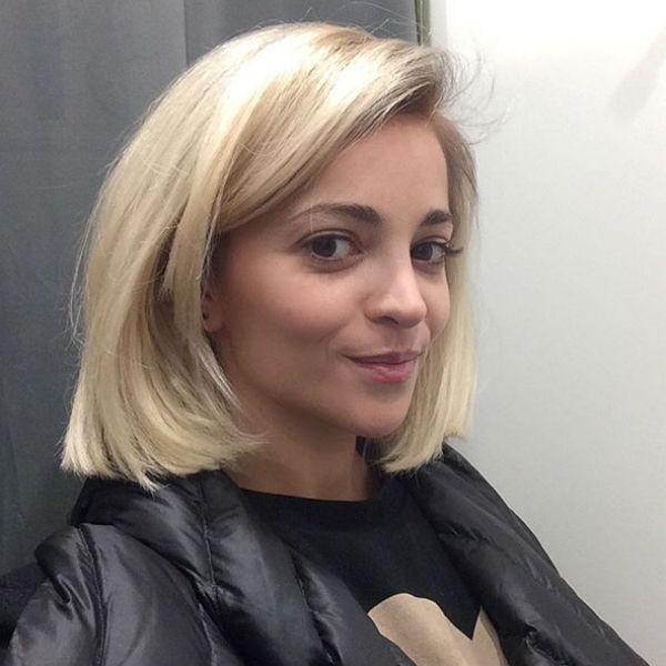 Новая стрижка освежает актрису