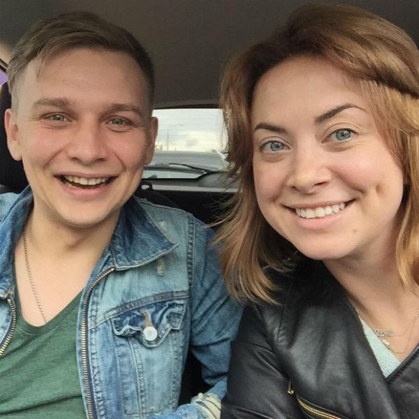 Наталья Фриске с любимым мужем Сергеем