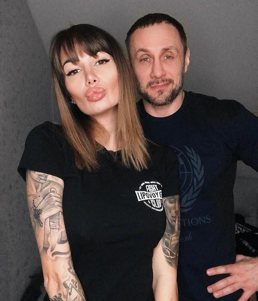Александр Липовой и Саша Кабаева