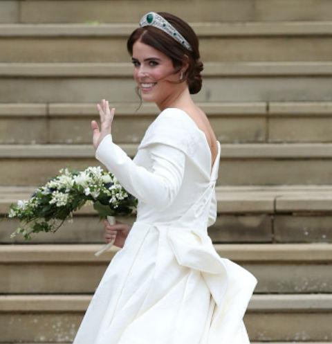 Первые свадебные фото внучки королевы Елизаветы II