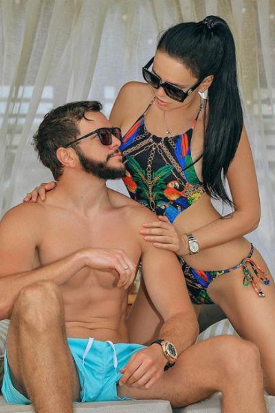 Виктория и Антон вместе уже больше полутора лет