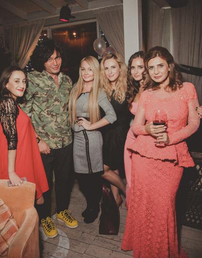Гости дня рождения Ирины Агибаловой