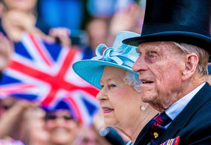 Елизавета II и принц Филипп были вместе 73 года