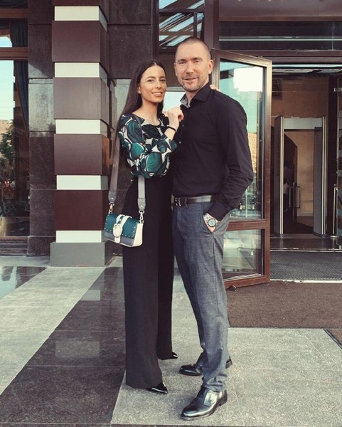 Олег Винник с бывшей женой Алекс