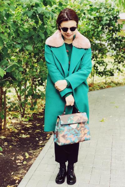 Идеально подобранные пальто и сумка