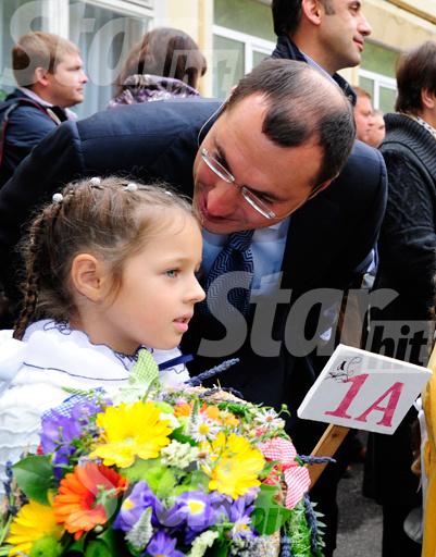Игорь Вдовин подбадривал дочку