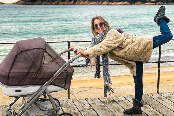 Звездные родители лишь изредка публикуют фотографии с коляской