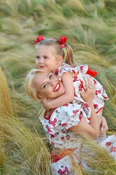 Сейчас певица воспитывает дочку одна, папа редко интересуется жизнью ребенка