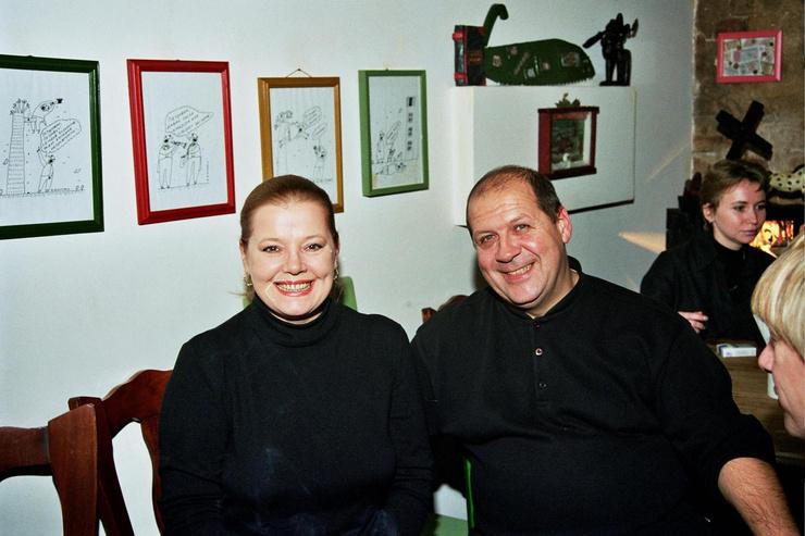 Людмила Сенчина последние годы прожила со своим директором Владимиром Андреевым