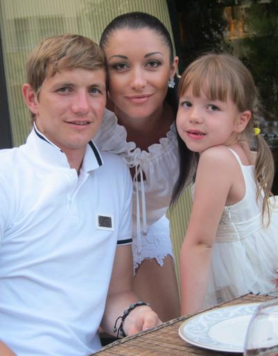 Роман Павлюченко с семьей отдохнул в Турции