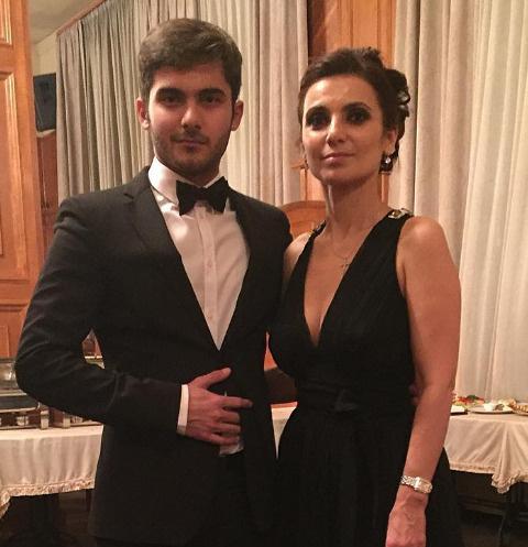 Александр Маругов с мамой Татьяной
