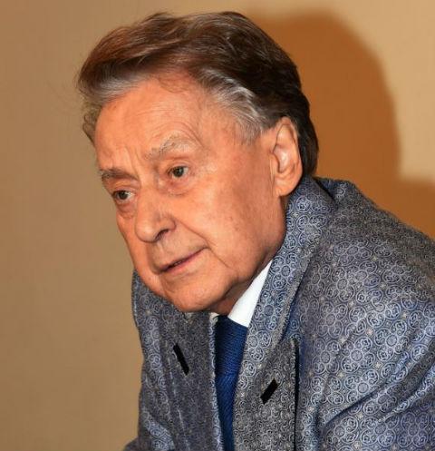 Андрей Дмитриевич на 50-летии творческой деятельности Льва Лещенко
