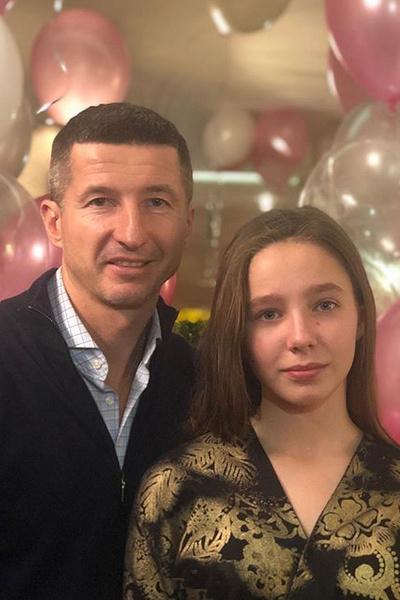 Евгений Алдонин с дочерью Верой