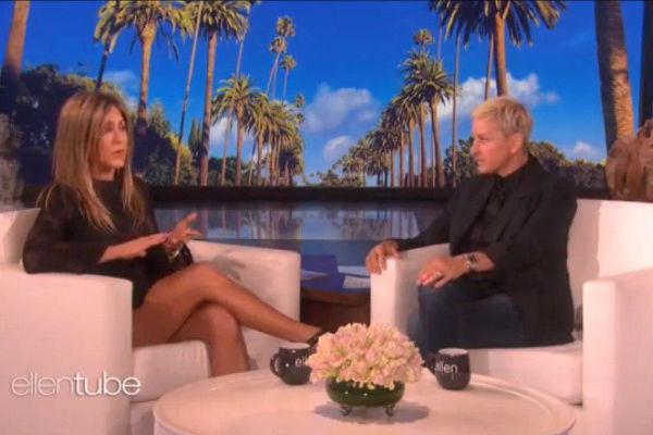 Дженнифер Энистон рассказала Эллен Дедженерес подробности неприятного инцидента