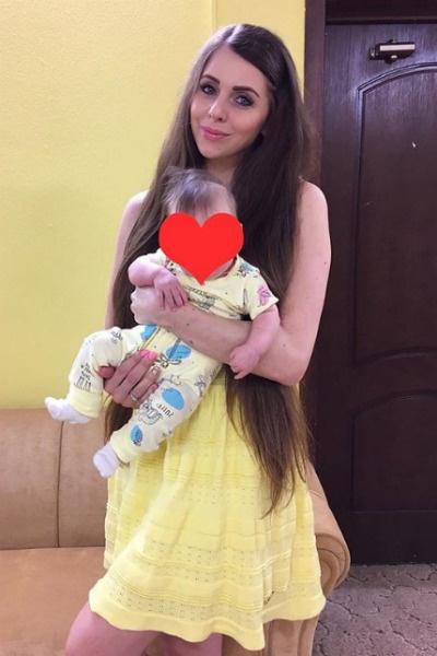 Скоро Ольга покажет лицо дочери