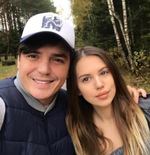 Евгений Кузин и Саша Артемова