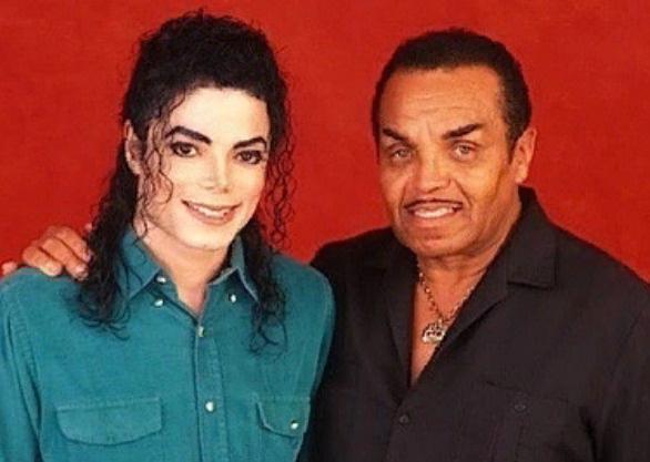 Майкл Джексон с отцом