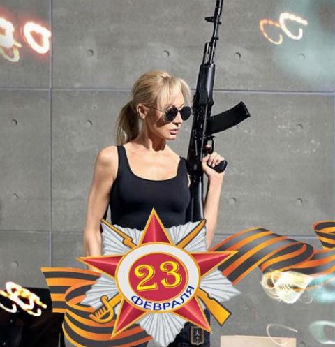 Кристина Орбакайте оригинально поздравила мужчин с 23 февраля