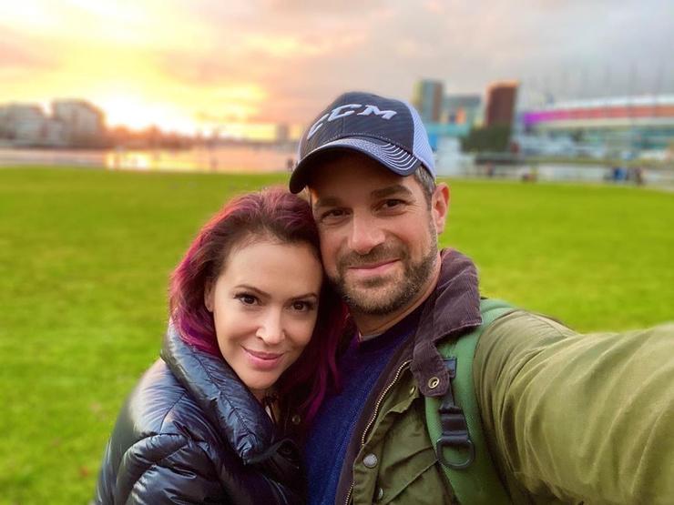 Алисса Милано уже 10 лет счастлива в браке