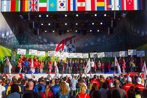 Стиль жизни: Футбольно-музыкальный фестиваль «Арт-футбол» соберет более 500 артистов со всего мира – фото №2