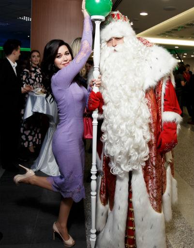 Анастасия Заворотнюк поверила в Деда Мороза