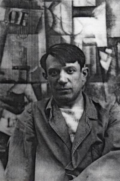 Пабло Пикассо в 1904 году