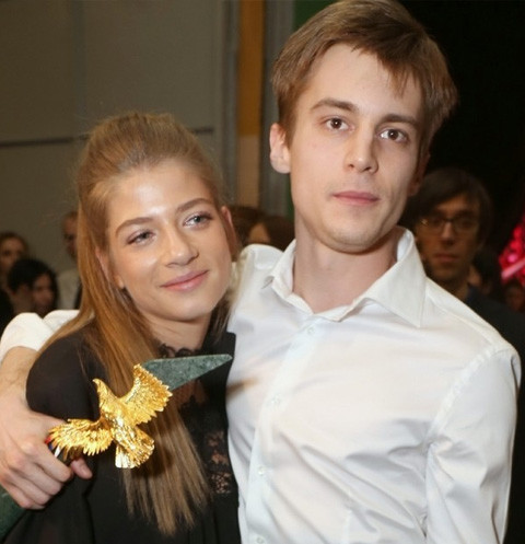 Александра Новикова и Иван Янковский