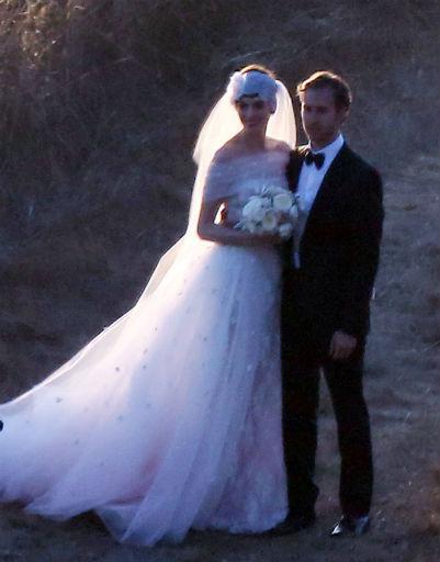 Бракосочетание состоялось в субботу после захода солнца