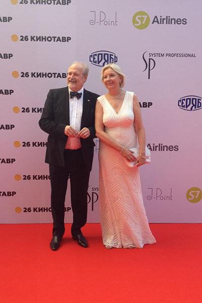 Владимир Хотиненко с супругой