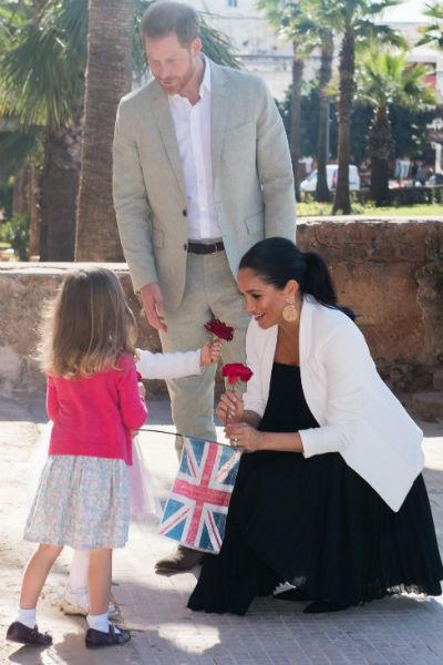 И Гарри, и Меган обожают детей