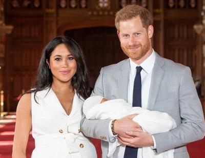 Первое фото ребенка Меган Маркл и принца Гарри