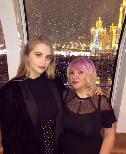 Ирина Грибулина с дочерью Анастасией