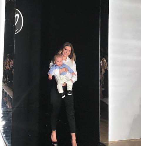 Галина Юдашкина показала лицо сына парижской публике