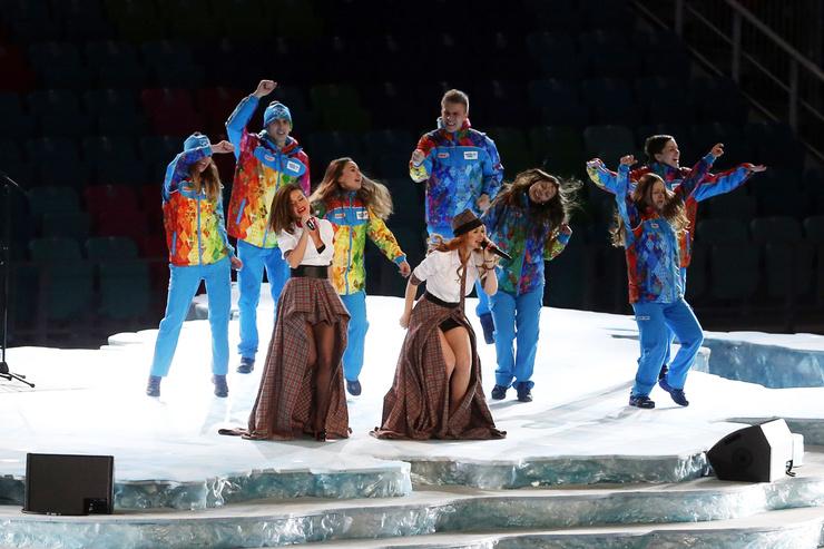 Певицы объединились вновь для выступления на Олимпиаде в 2014-м