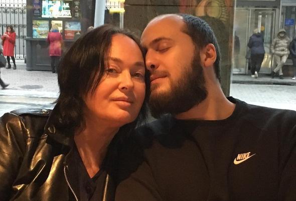 Лариса Гузеева с сыном Георгием