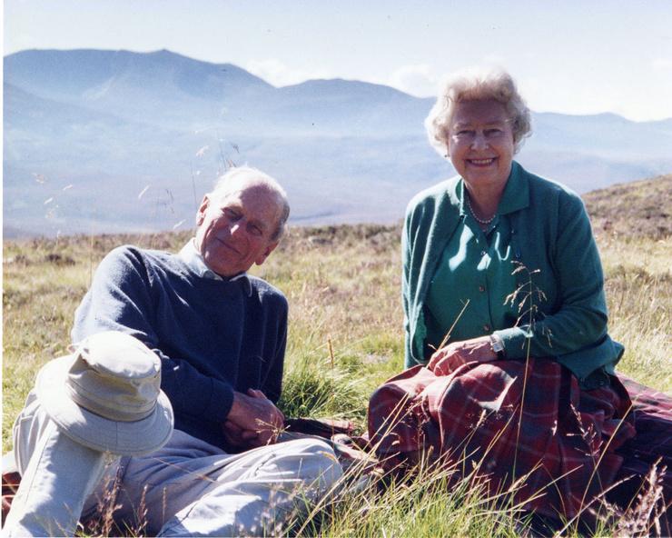 Королева Елизавета II и принц Филипп были счастливы вместе
