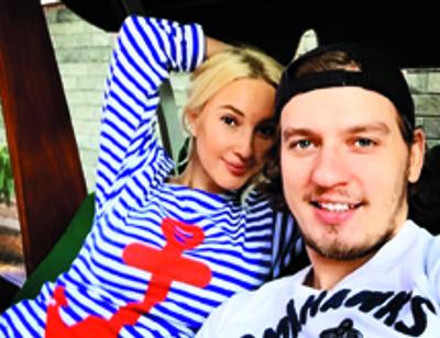 Лера Кудрявцева помогает супругу обжиться в новой квартире