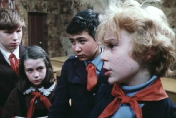 Оксана Фандера сыграла роль школьницы в «Приключениях Электроника»