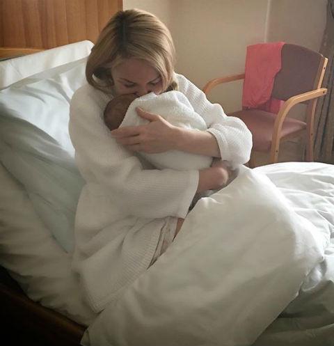 Дарья Пынзарь с сыном Давидом