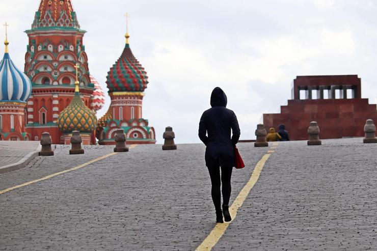 В Москве введен строгий карантин